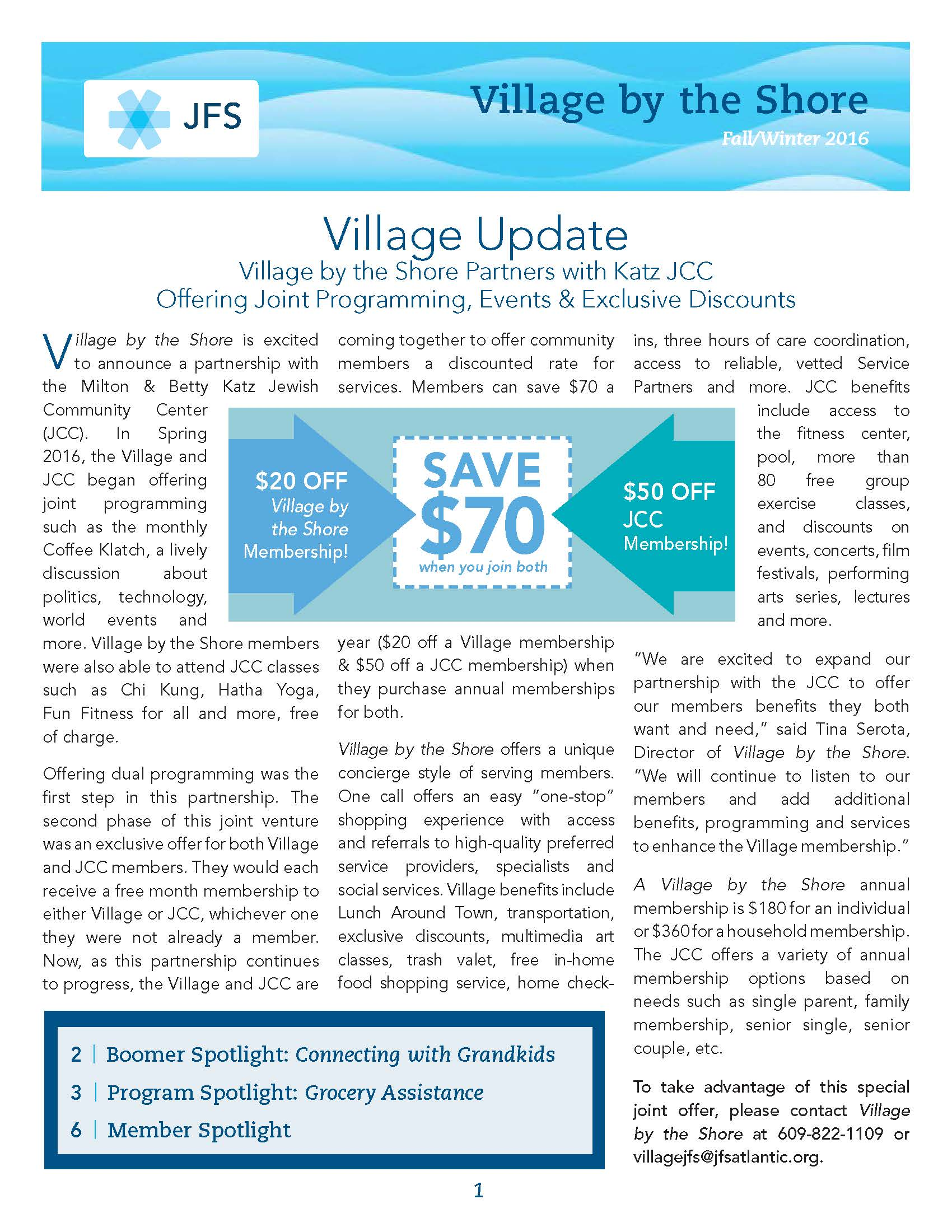 Village Newsletter Winter 2016 for Web Page 1